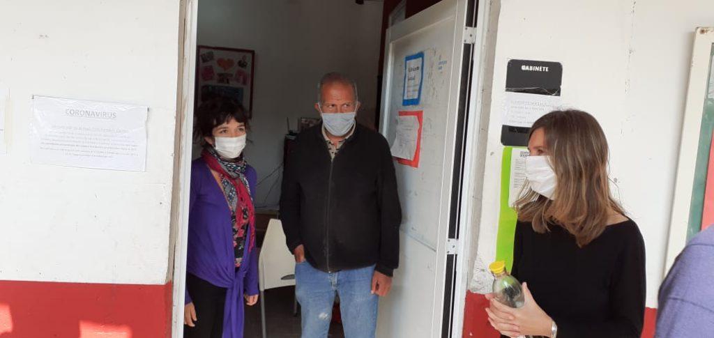 La Ministra de Desarrollo para la Comunidad visita el Centro de Salud Tekó Porá