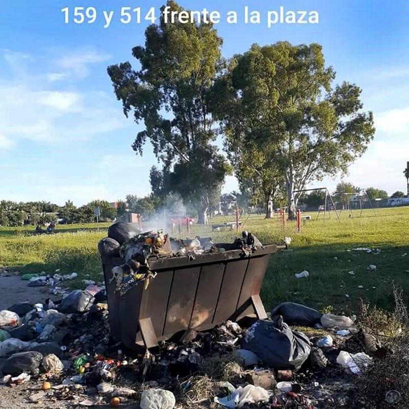 Vecinos de Romero se ven obligados a quemar la basura ante el abandono del Estado Municipal de Julio Garro y la ineficiente recolección de residuos