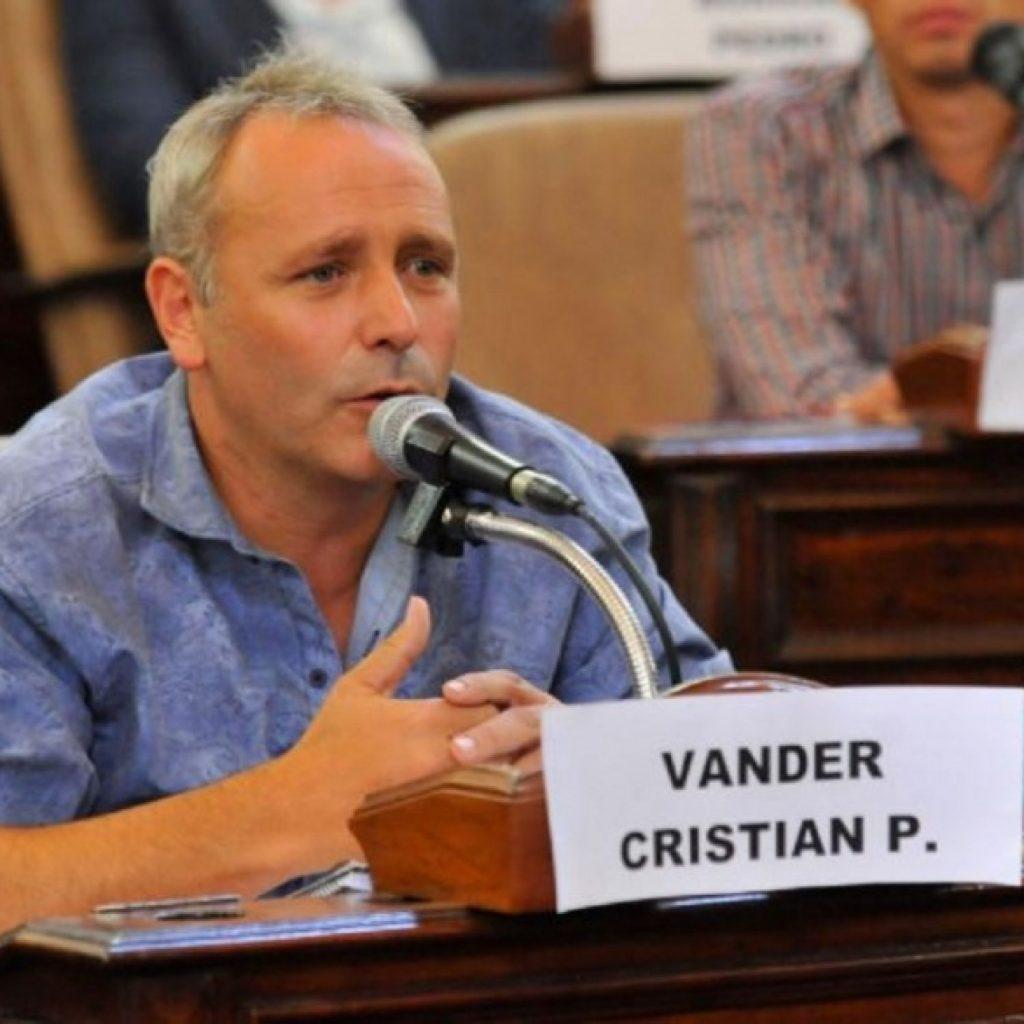 """Cristian Vander: """"El Municipio está totalmente desbordado"""""""