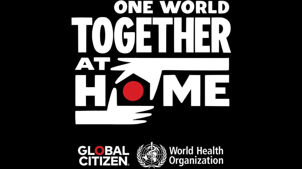 One World: Together at Home: evento virtual a favor de la OMS