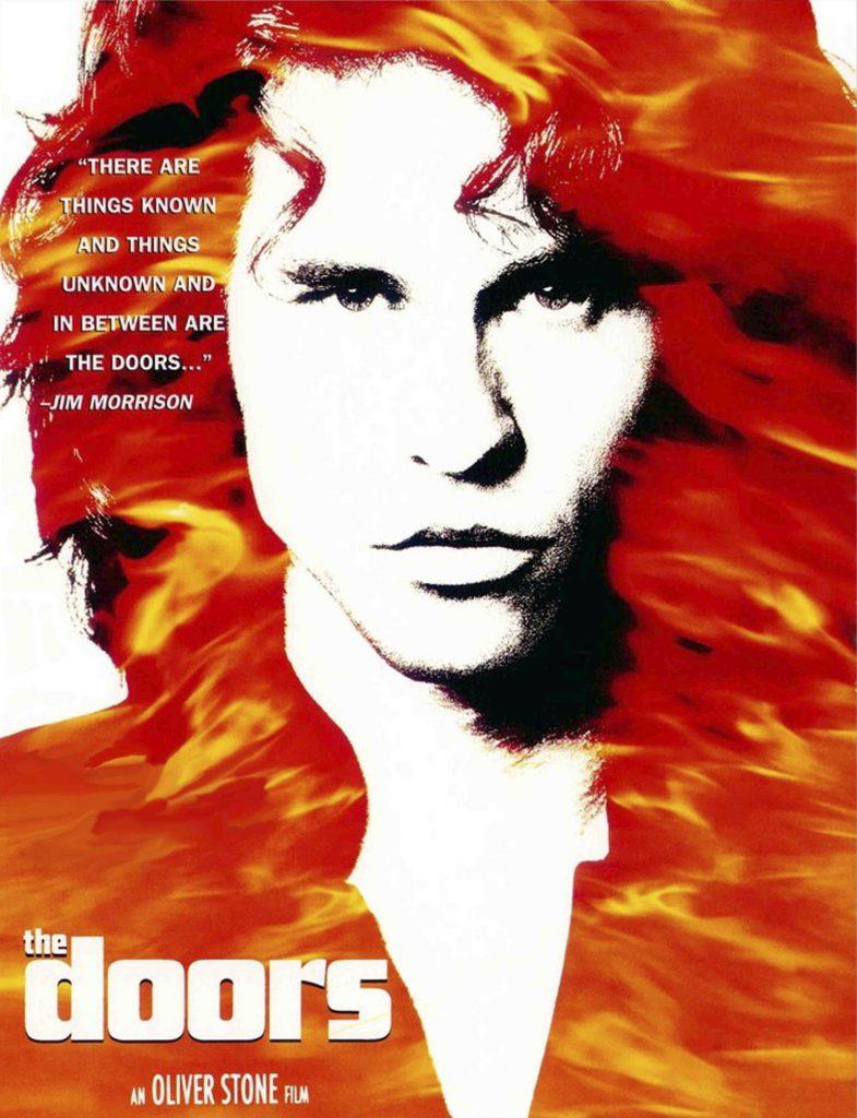 5 películas de rock, the doors de Oliver Stone