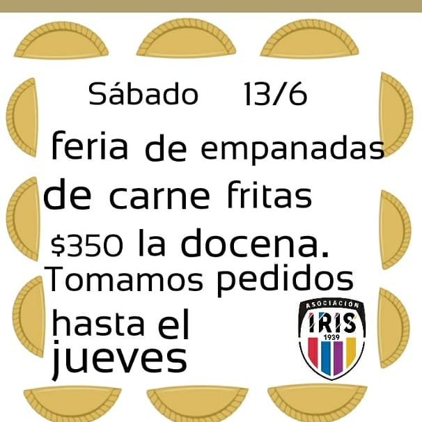 Para recaudar fondos Iris y Capital Chica venderán comida este fin de semana