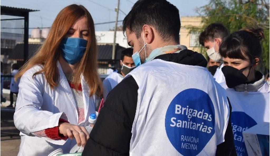 Brigadas sanitarias Ramona Medina
