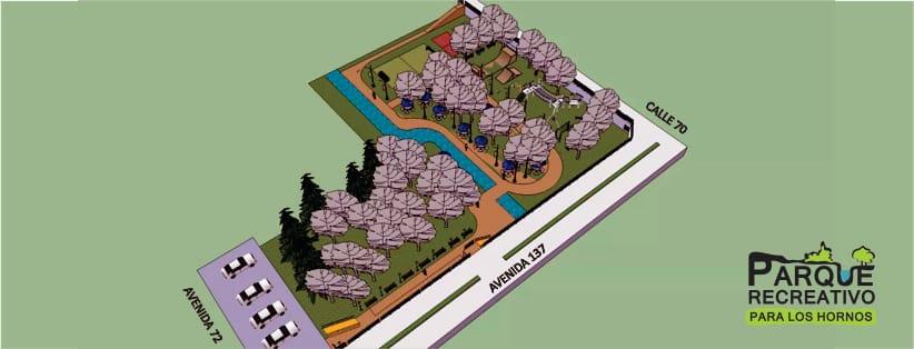 plano del uturo parque