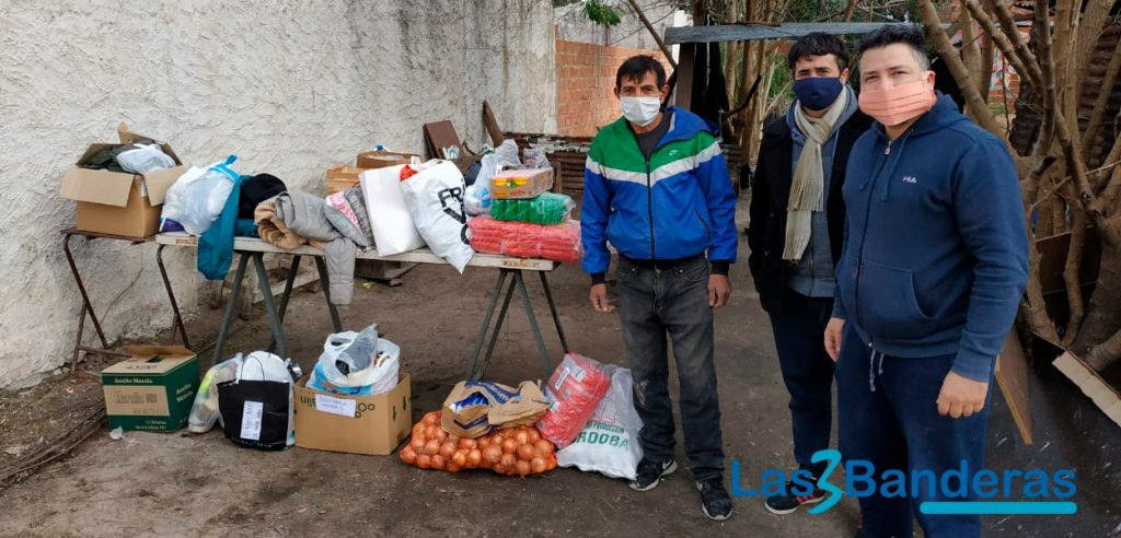 Ayudanos a ayudar, colecta solidaria para ayudar a comedores y ollas populares