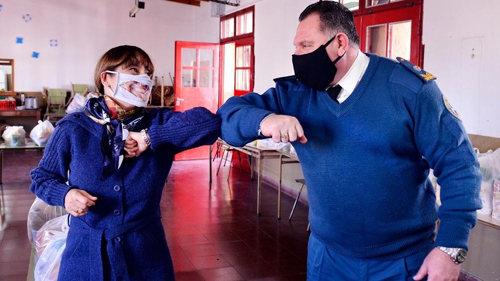 Continúan las iniciativas solidarias del servicio penitenciario bonaerense