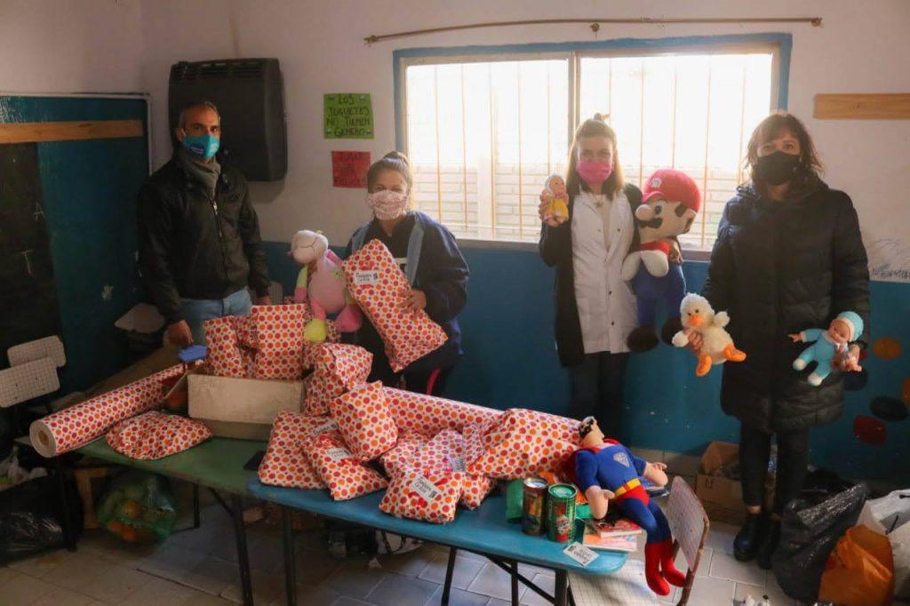 Privadas de la libertad de los hornos donaron juguetes y ropa a Pantalón Cortito
