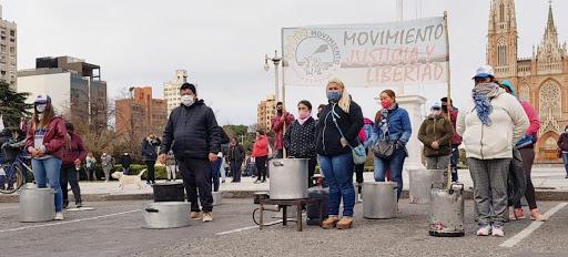movimientos sociales frente al municipio