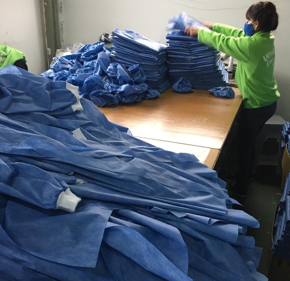 trabajo textil