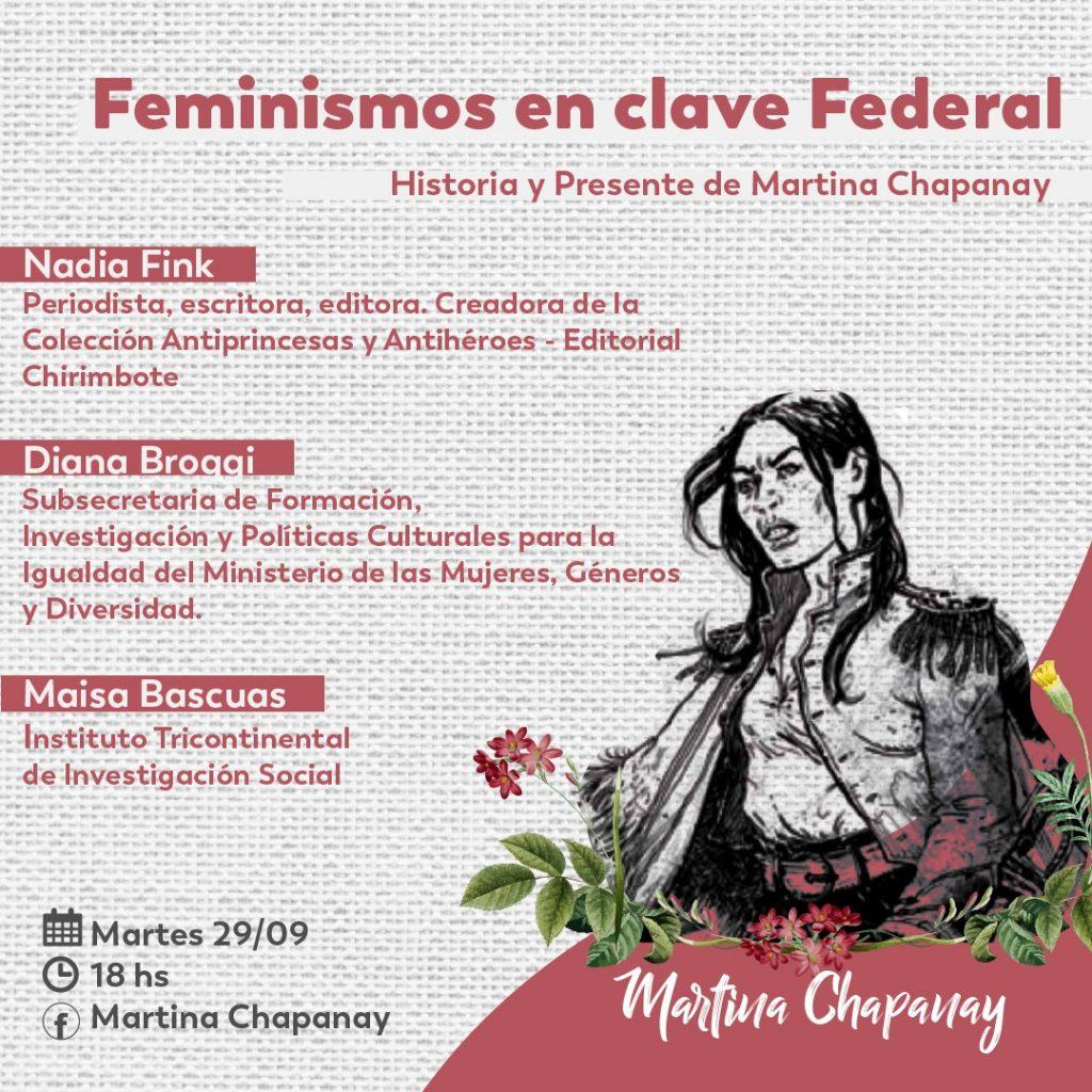 """Nadia Fink: """"es fundamental que la agenda del feminismo esté sobre el tapete"""""""