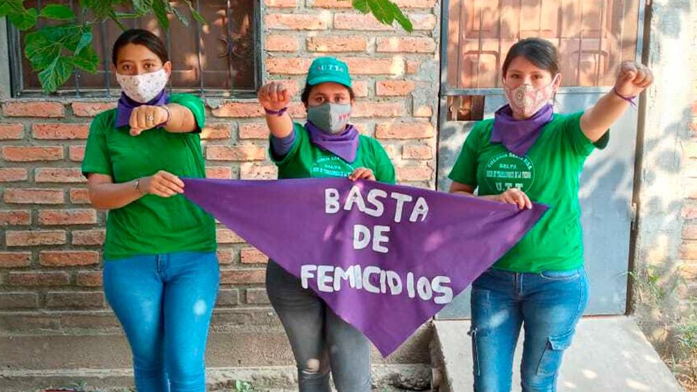 campesinas contra la violencia de género