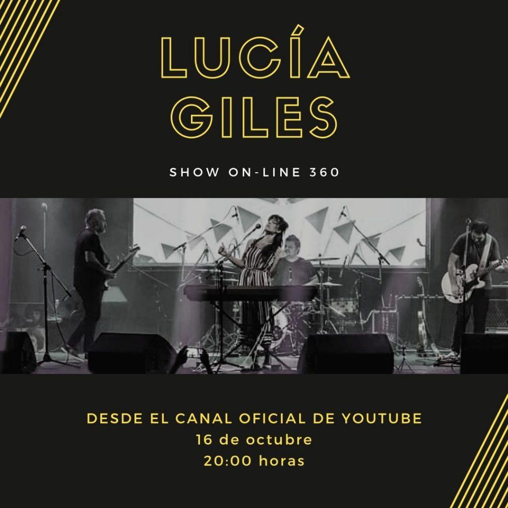 Lucia Giles prepara su show 360