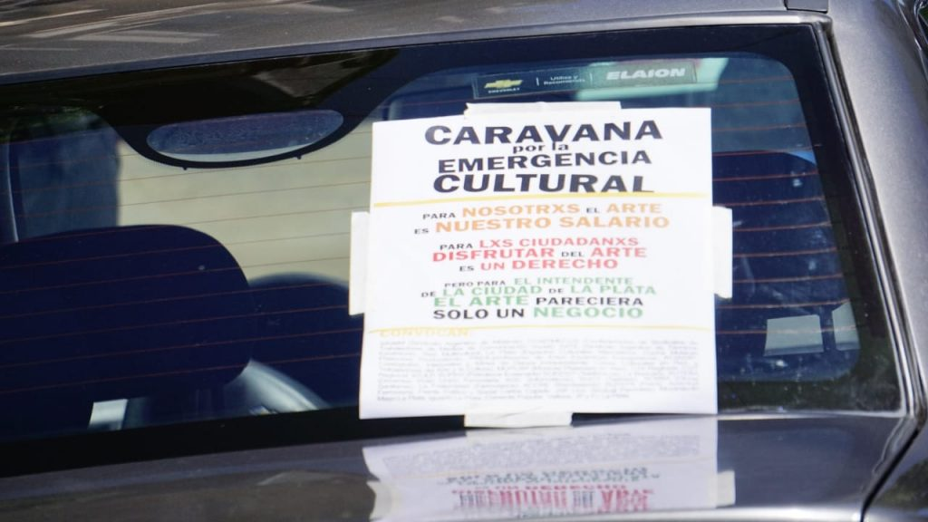 Caravana por le emergencia cultural