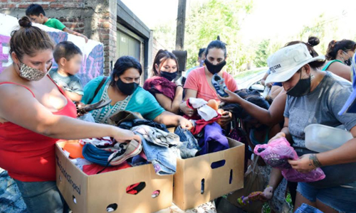 Privados de la libertad ayudan a comedor comunitario de Los Hornos