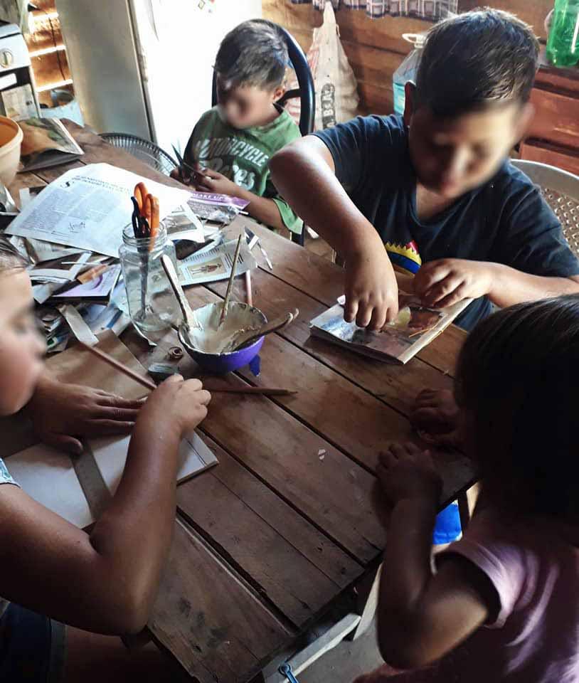 Realizan taller de alfabetización en Altos de San Lorenzo