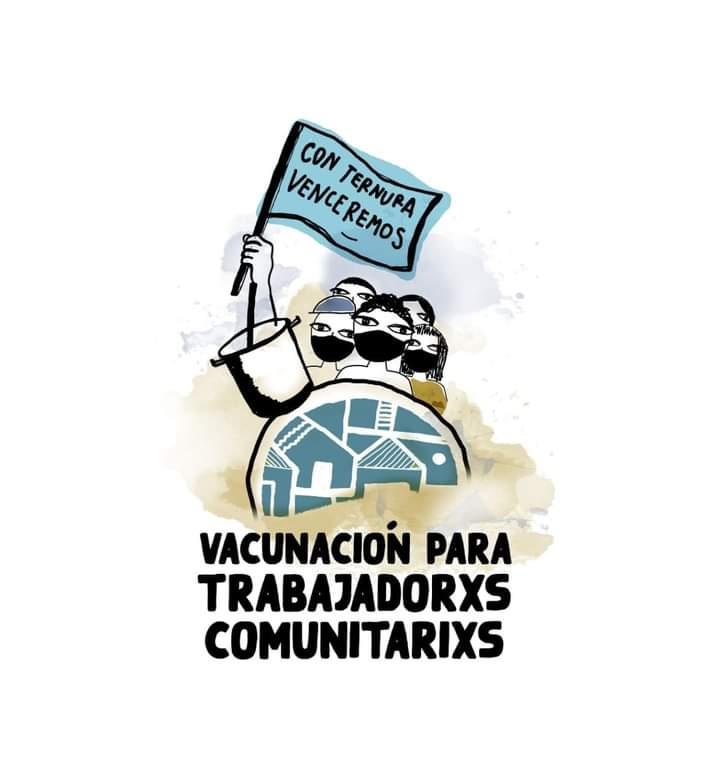 Trabajadores comunitarios reclaman prioridad en la vacunación  Covid-19