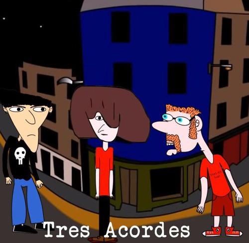 Tres acordes: la serie animada que la rompe en YouTube