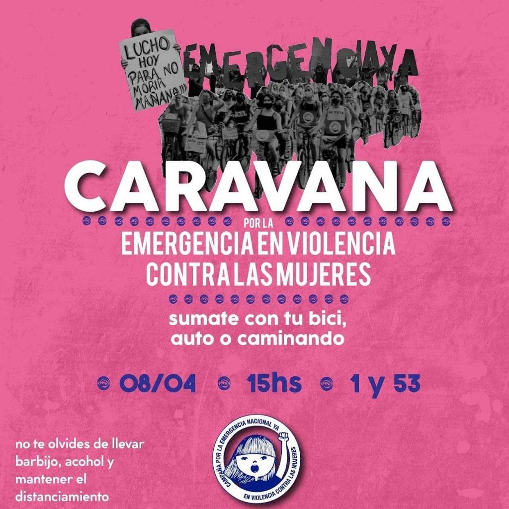 Caravana por una Ley de Emergencia en Violencia contra las Mujeres