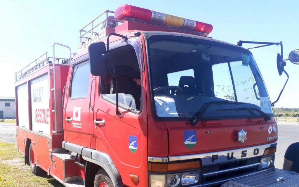 Nueva autobomba para Bomberos Voluntarios de El Peligro