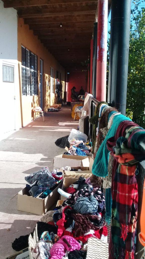 Feria comunitaria en Pantalón Cortito