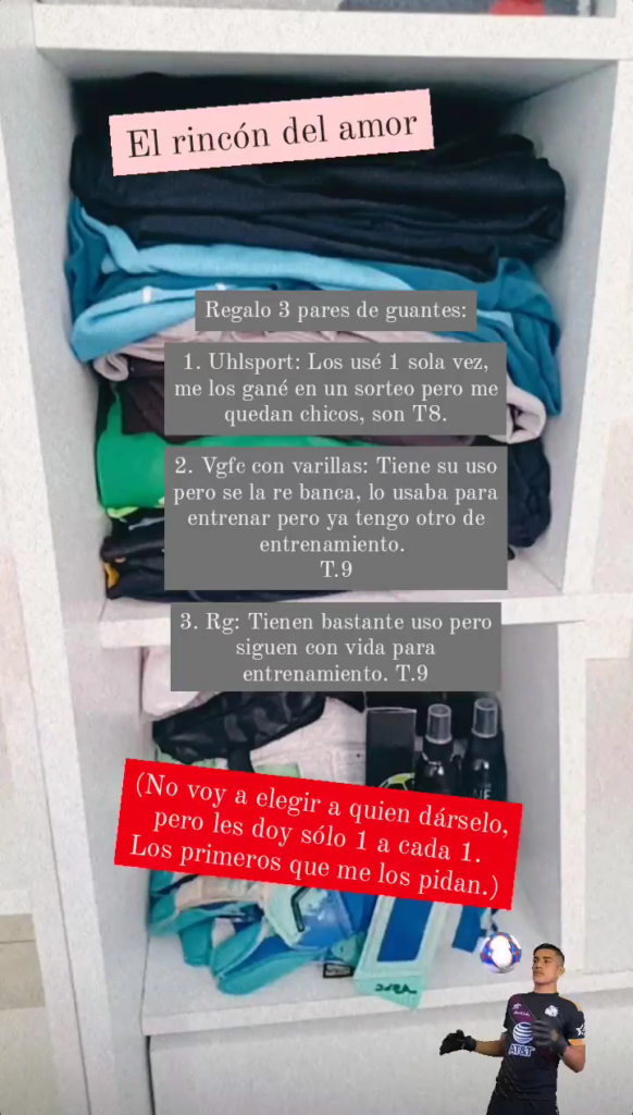 Campaña solidaria para  regalar guantes a arqueras