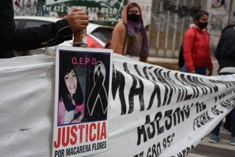 Pidieron justicia por Macarena Flores